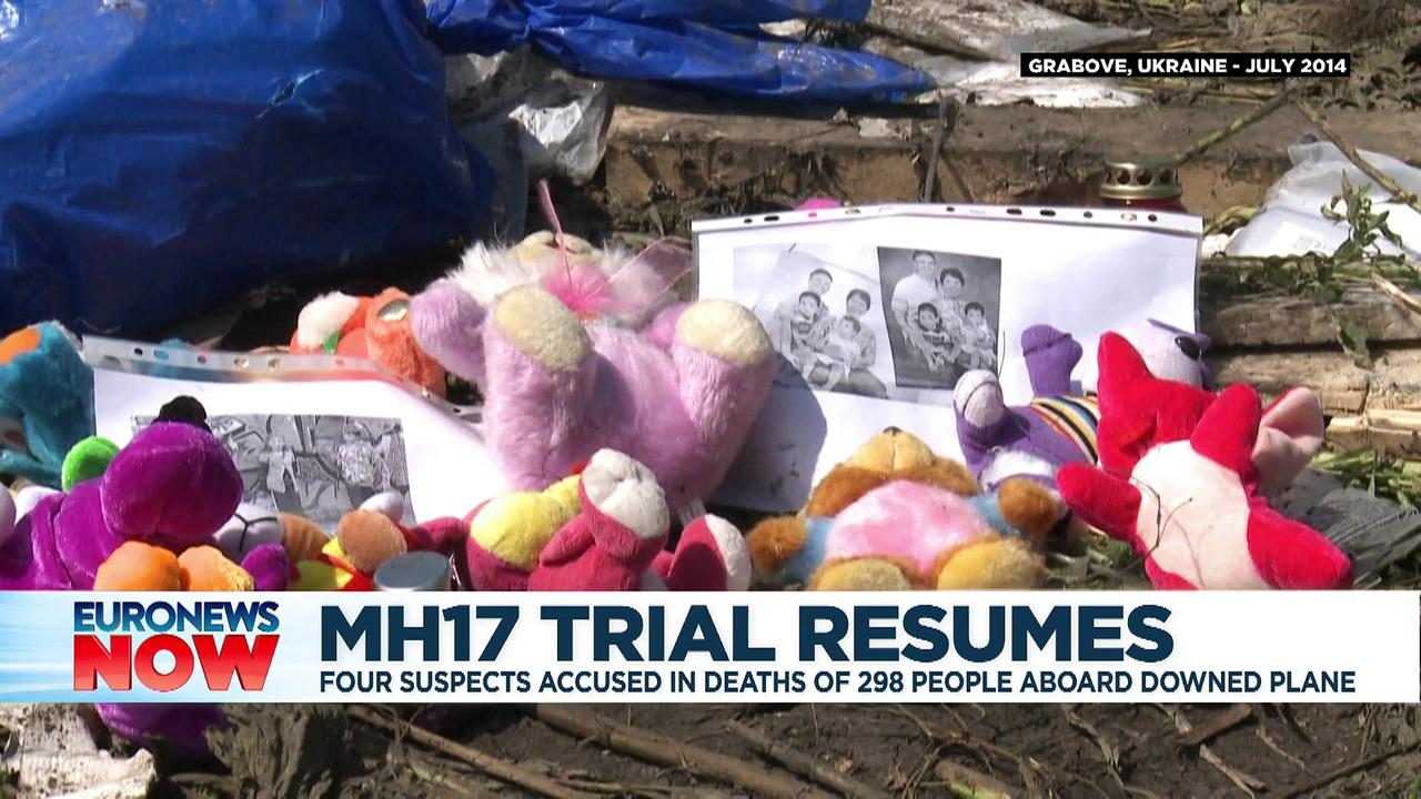 MH17 plane crash trial enters crucial stage of hearing evidence