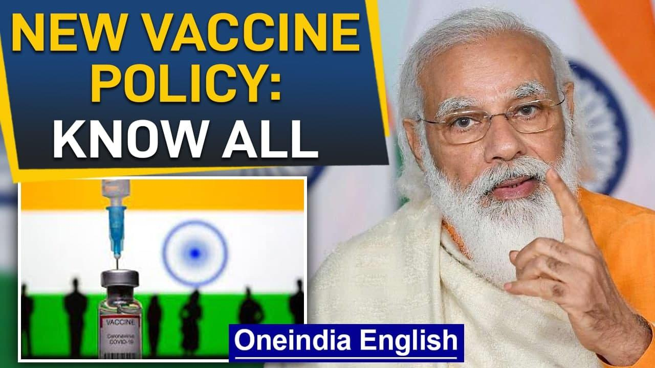 Free vaccines for all: PM Modi's mega address to the nation amid 2nd wave |  Oneindia News