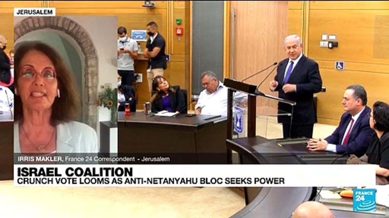 Israel crunch vote looms as anti-Netanyahu bloc seeks power