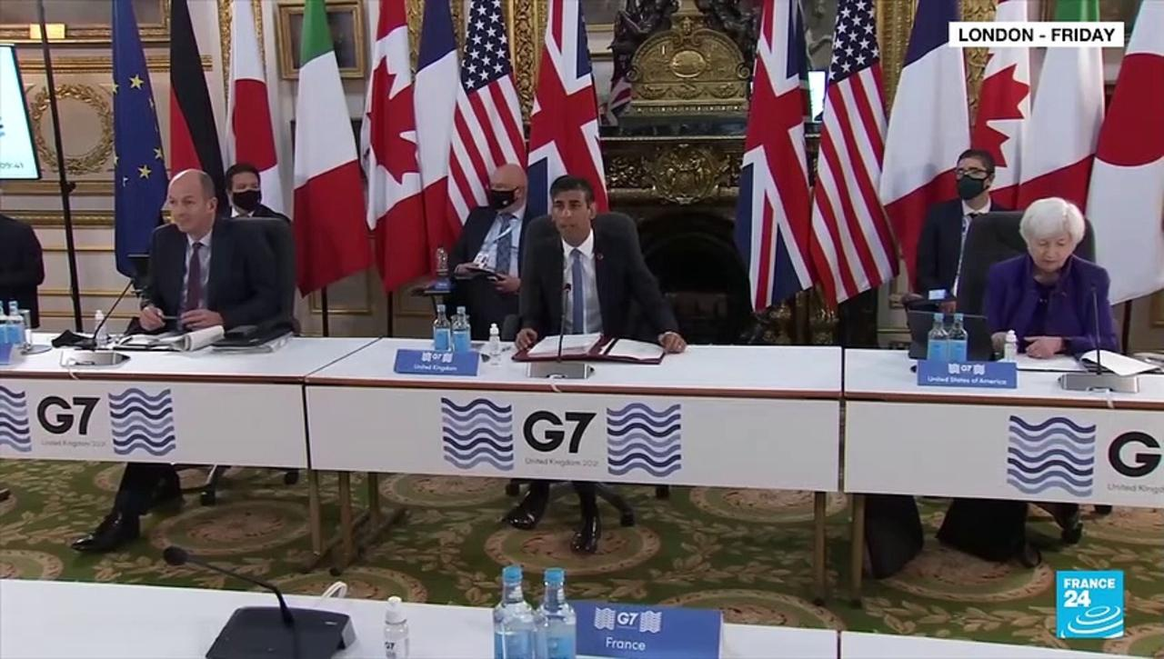 G7 nations back minimum corporate tax of at least 15%