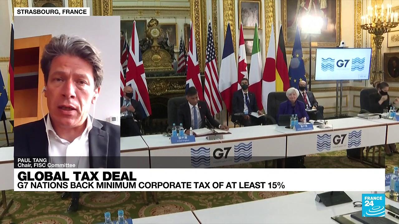 G7 nations agreed to back a global corporate tax rate of at least 15%
