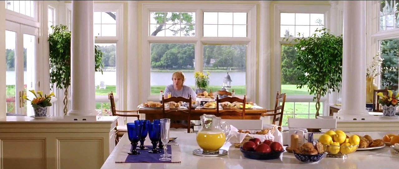 Wedding Crashers Scene Movie (2005) - Clip - A friend in need... Breakfast.