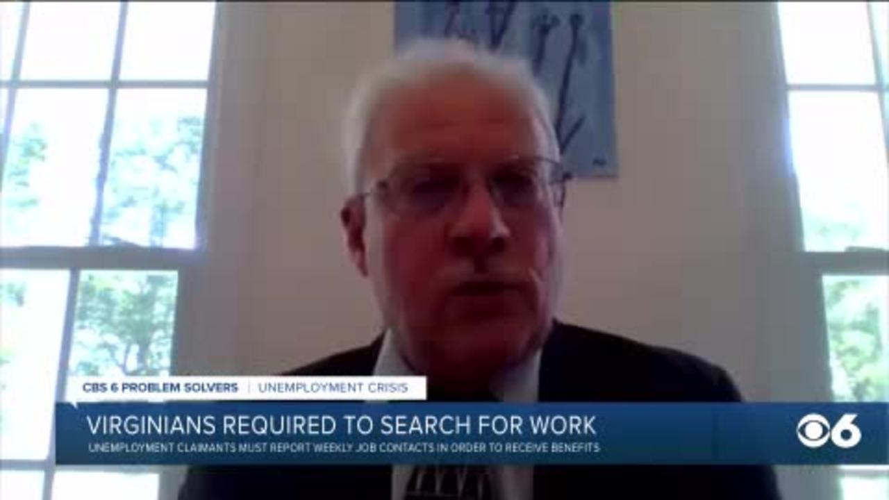 Virginians on unemployment are now required to look for work