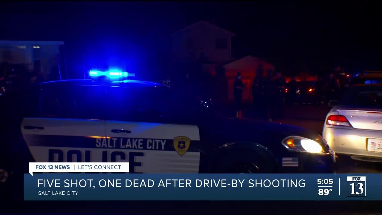 One dead, multiple injured in drive-by shooting at SLC graduation party