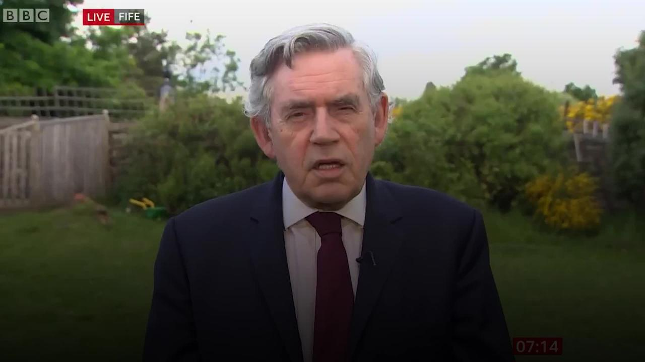Gordon Brown: Cuts to foreign aid is a 'life or death issue'
