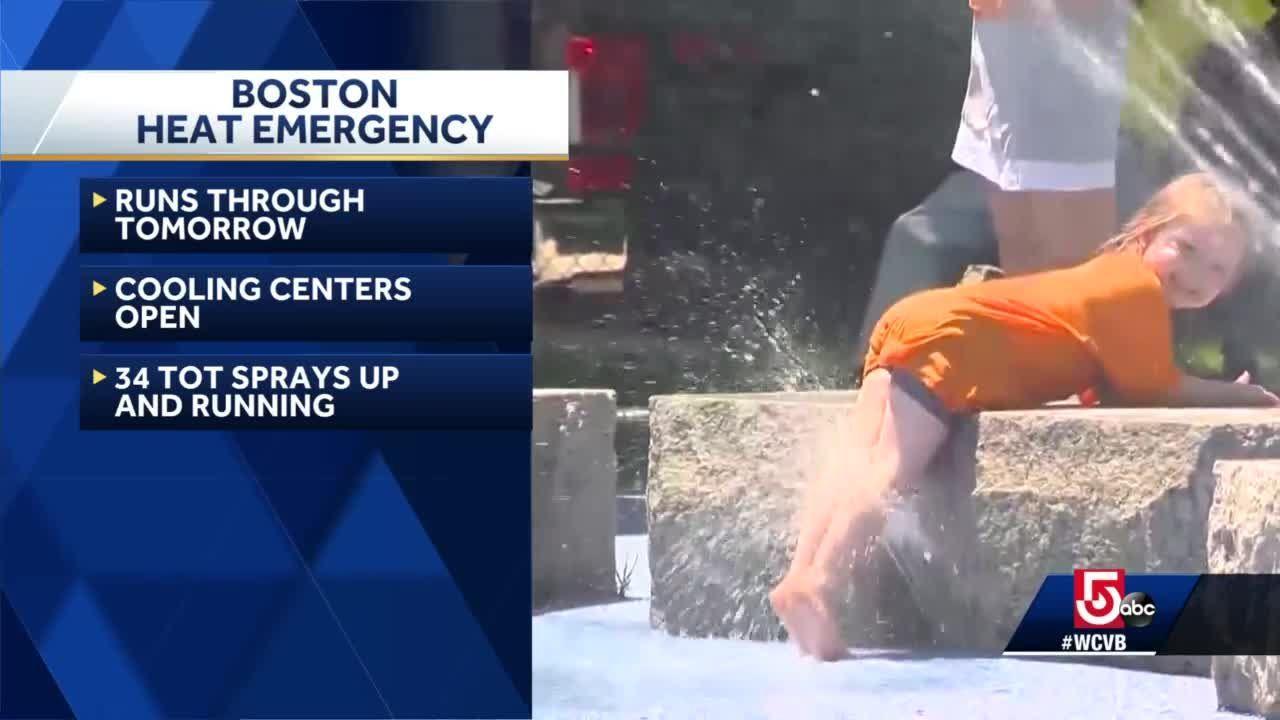 Heat emergency in effect in Boston