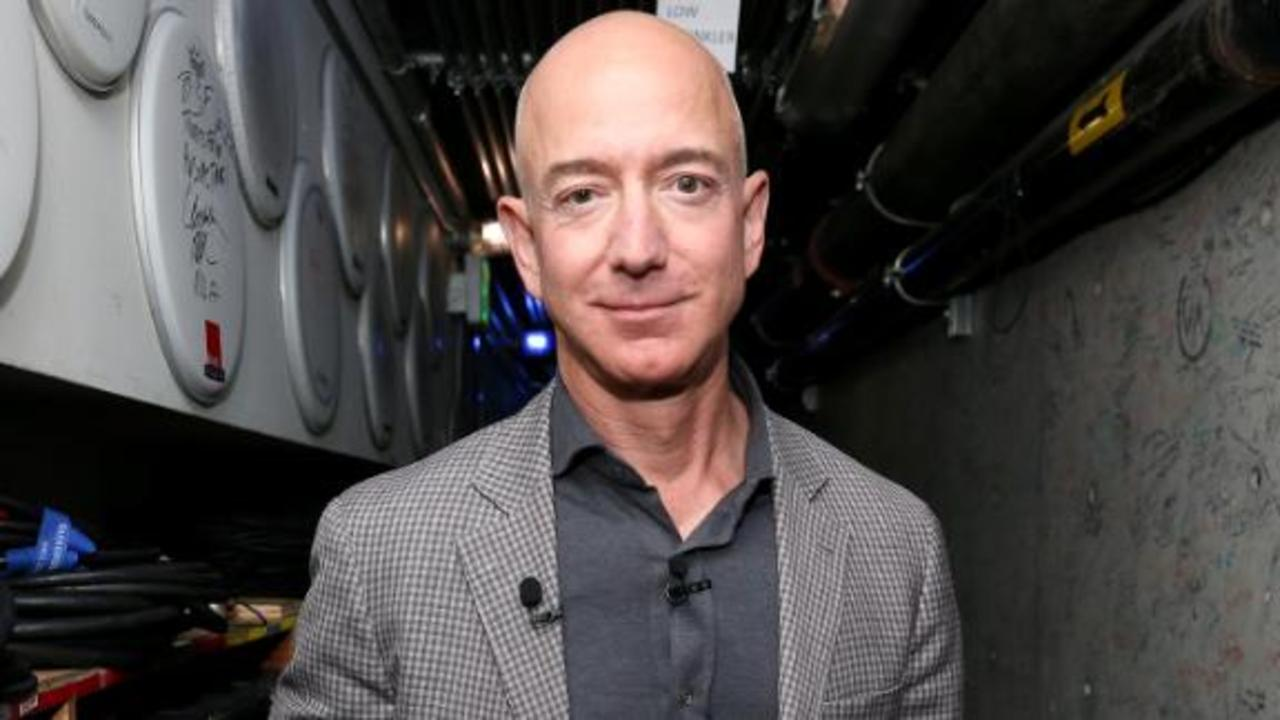 Jeff Bezos is going to space on a Blue Origin rocket ship