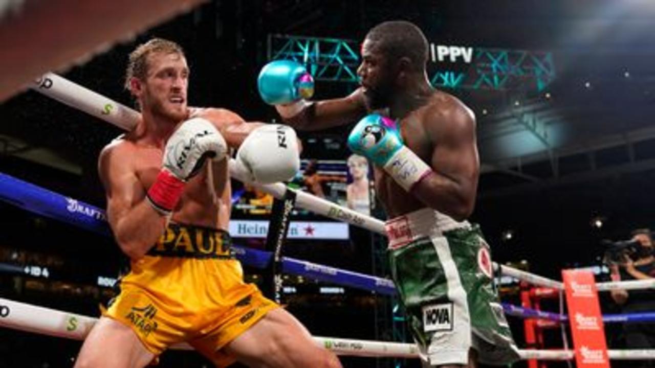 Logan Paul avoids Mayweather knockout