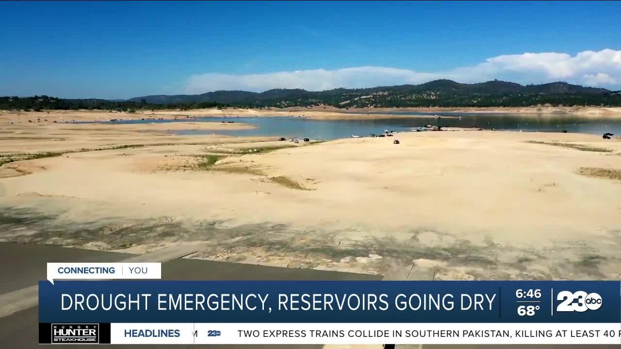 Drought emergency as reservoirs going dry