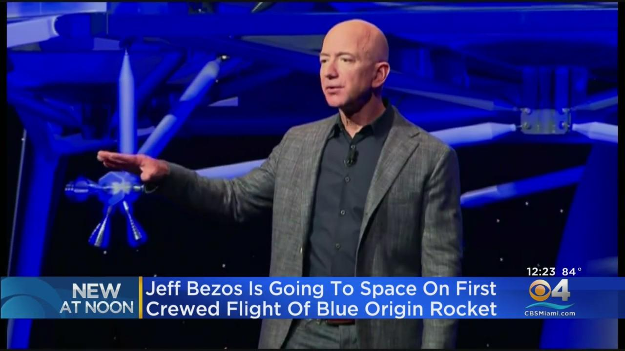 Amazon CEO Jeff Bezos is Going To Space