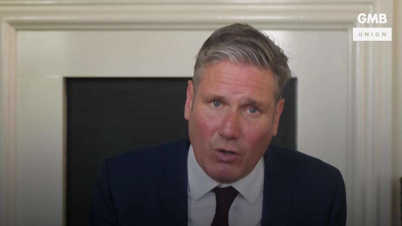 Starmer calls for end to 'levelling down of workers' rights'
