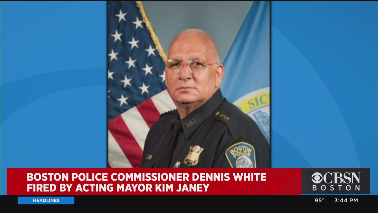 Boston Police Commissioner Dennis White Fired By Acting Mayor Kim Janey