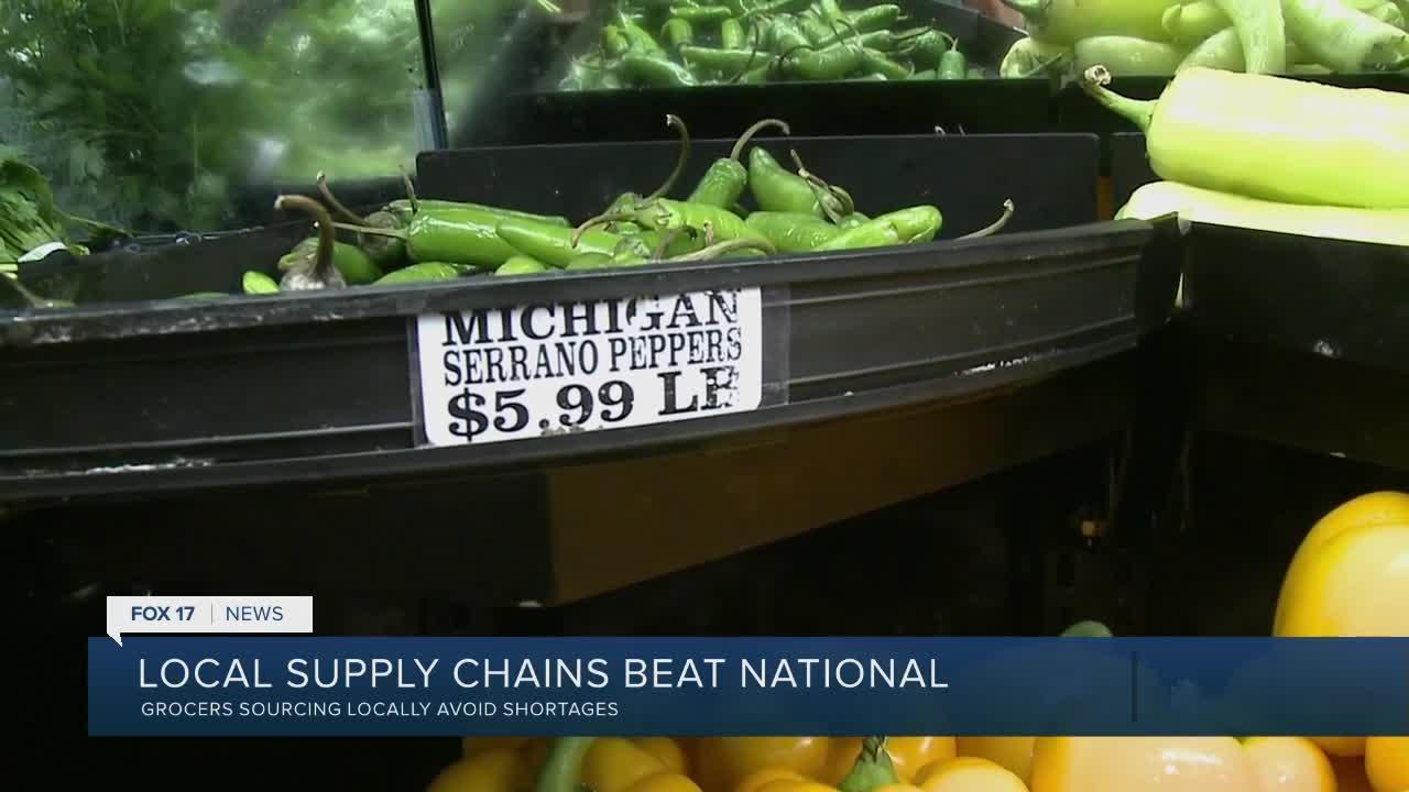 Local farms and markets benefit from national shortage