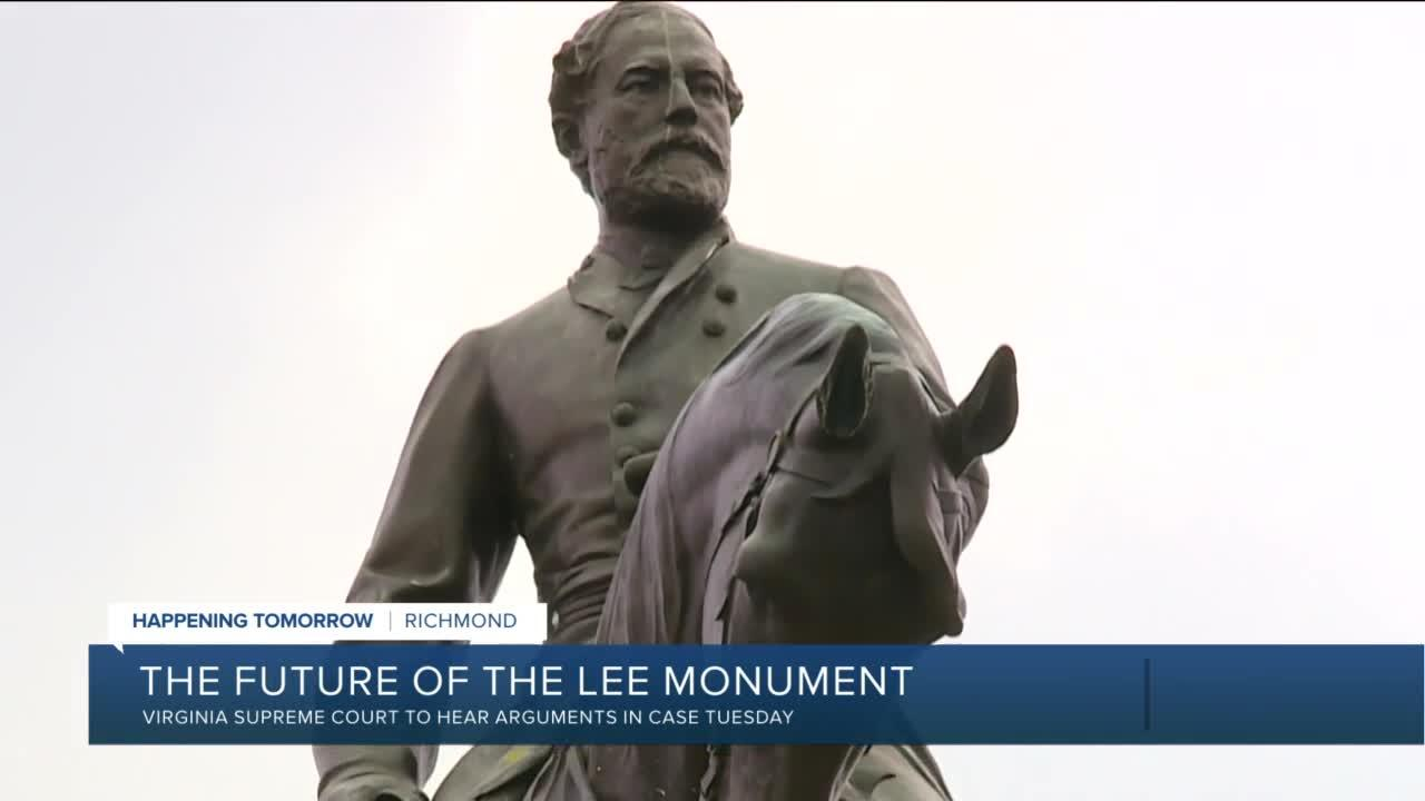 Supreme Court of Virginia to hear Robert E. Lee arguments
