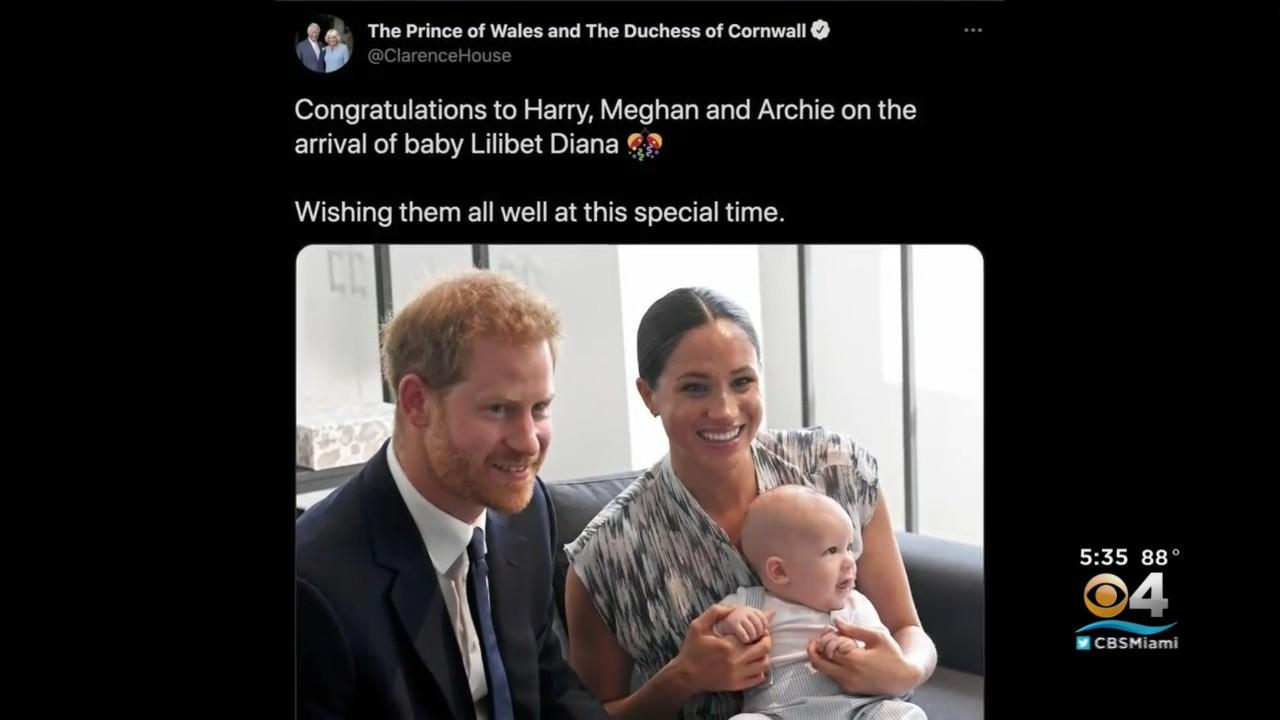 Meghan Markle & Prince Harry Announce Birth Of New Baby
