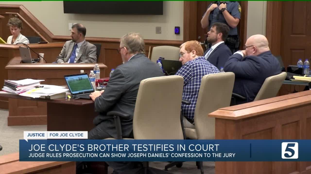 Joseph Daniels Trial Day 4: Joe Clyde's half brother testifies