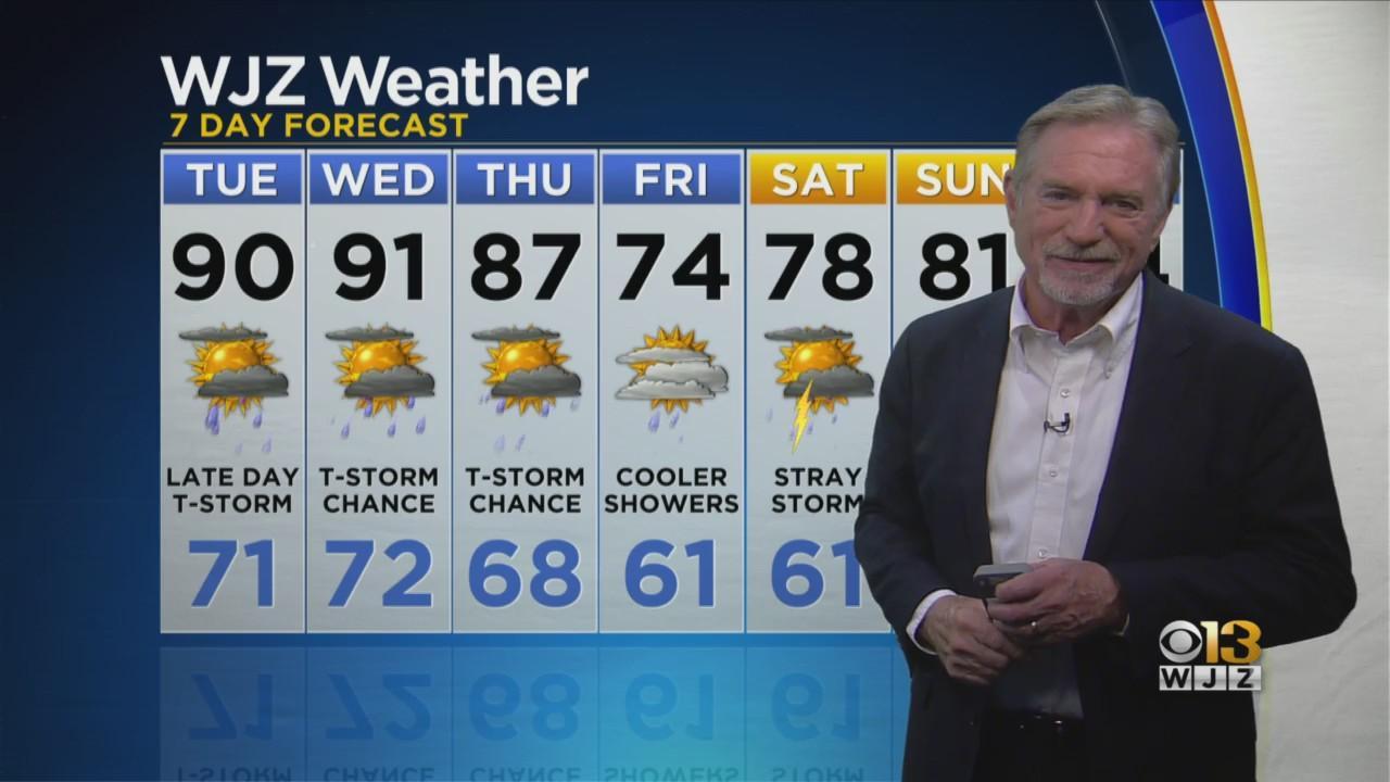 Bob Turk Has Your Monday Evening Weather Forecast