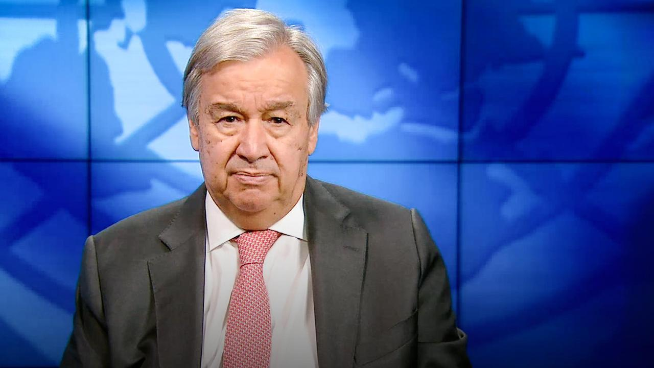 The race to a zero-emission world starts now   António Guterres