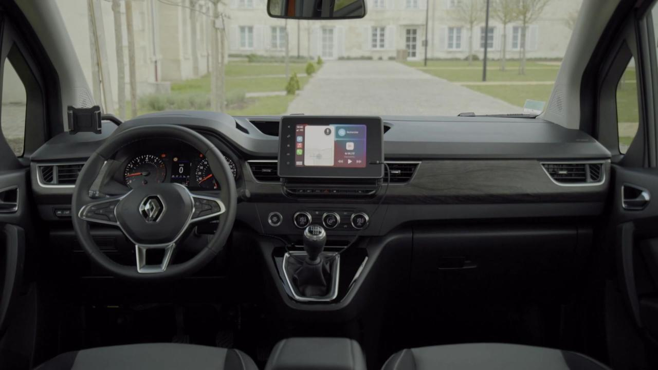 All-new Renault Kangoo Interior Design