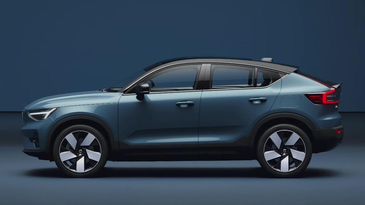 Volvo C40 Recharge - the exterior design story