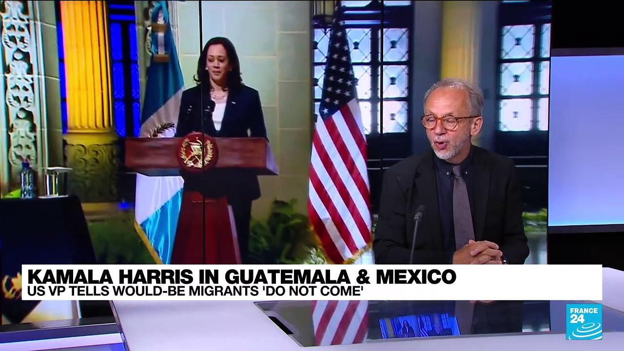 Kamala Harris targets corruption, immigration on Latin America trip