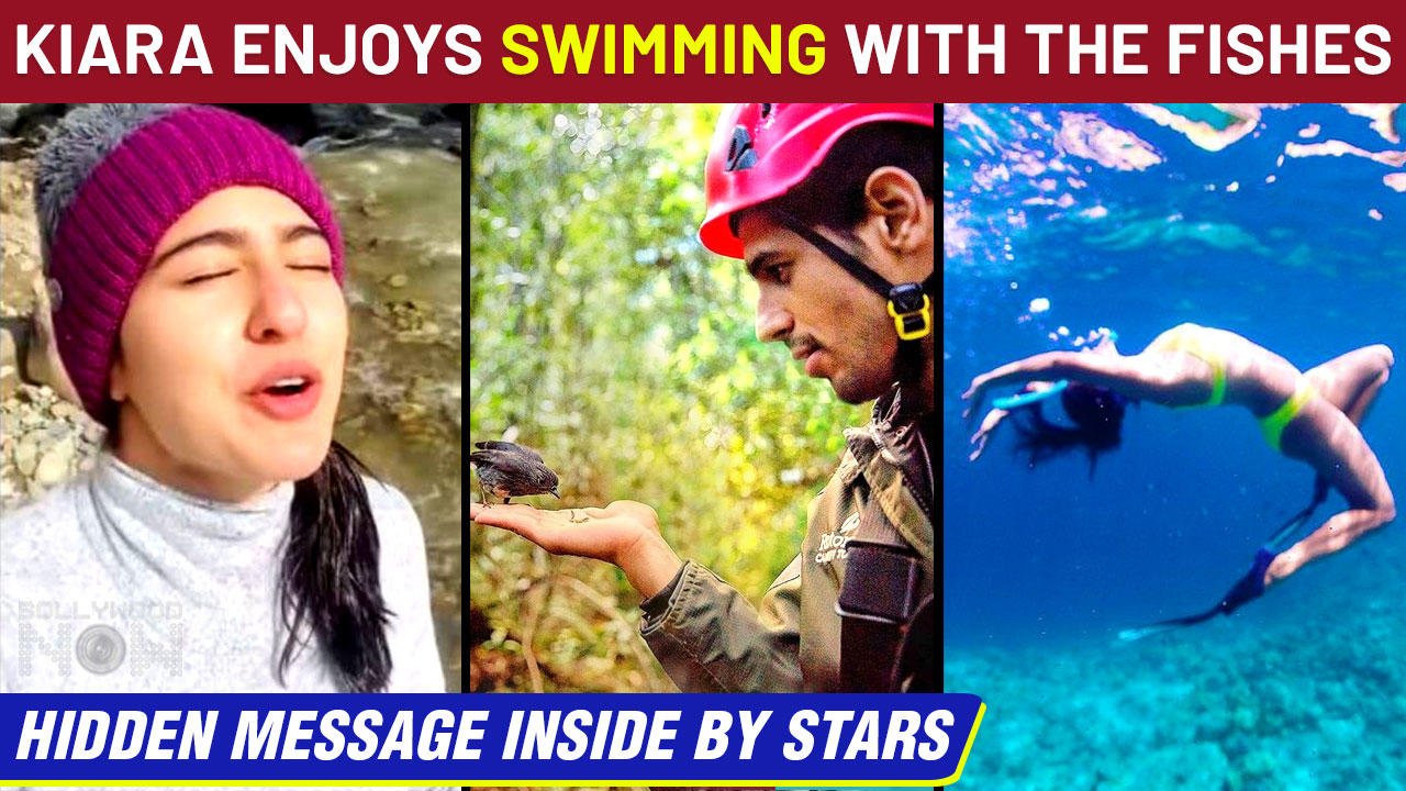 Kiara Advani Turns Mermaid In A Neon Bikini | Varun , Alia REACT | World Environment Day 2021