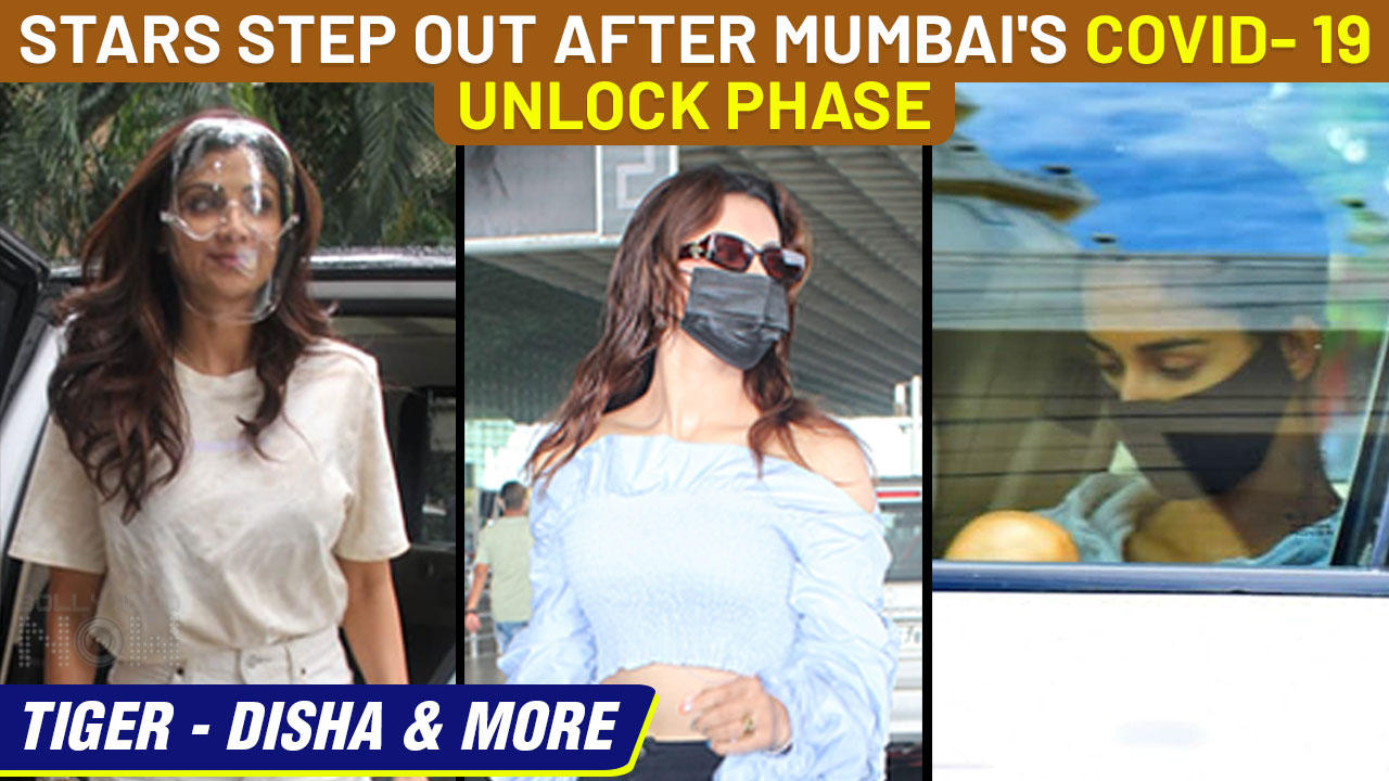 Tiger Disha Outside Gym, Shilpa Visits A Dental Clinic,Urvashi At Airport|Stars Spotted After Unlock
