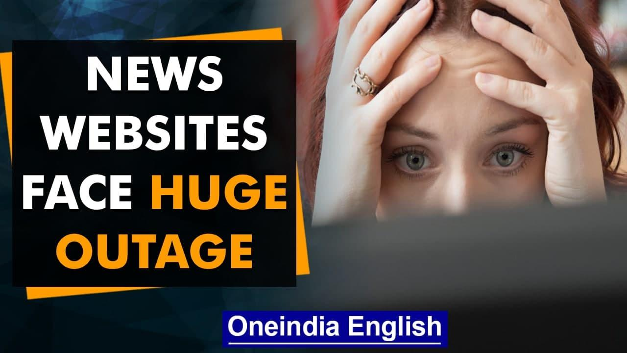 Massive news media blackout after possible internet outage: What we know | Oneindia News
