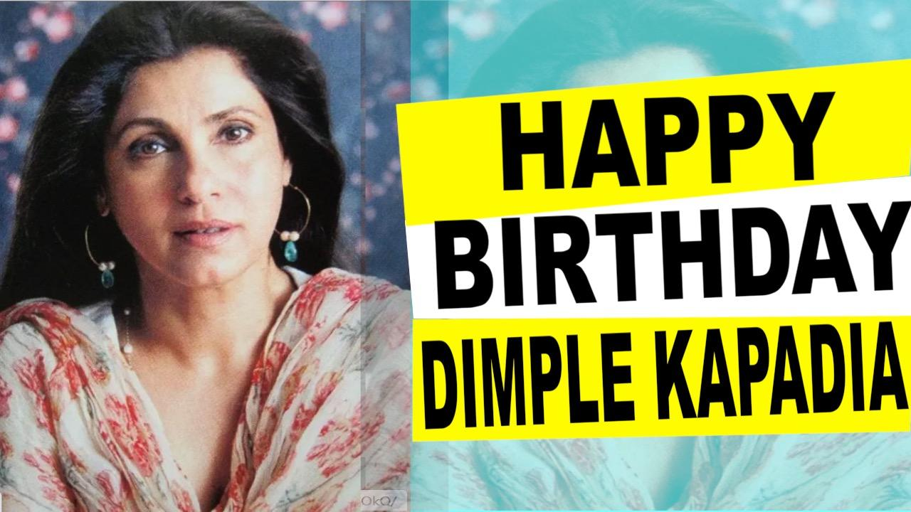 Happy Birthday Dimple Kapadia: Wishes Pour in for the Actress