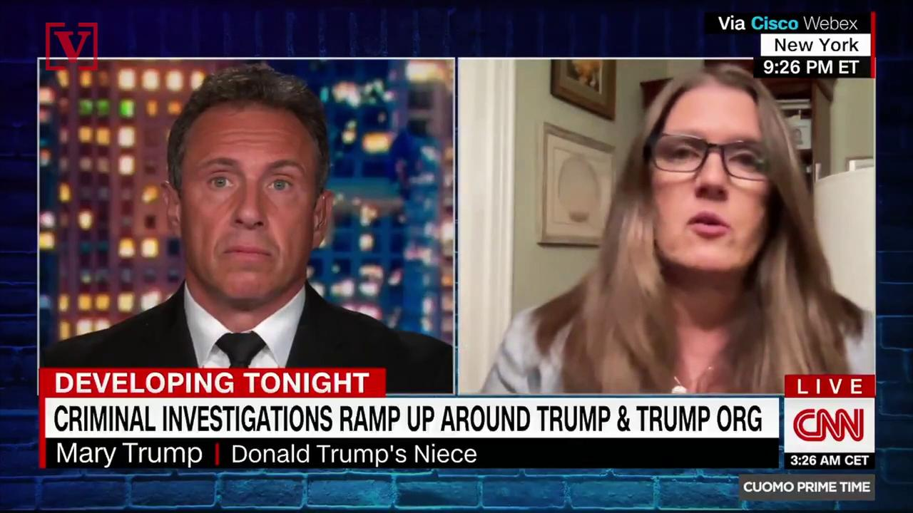 Mary Trump Predicts Donald Trump Would Not Protect His Kids From Legal Battle