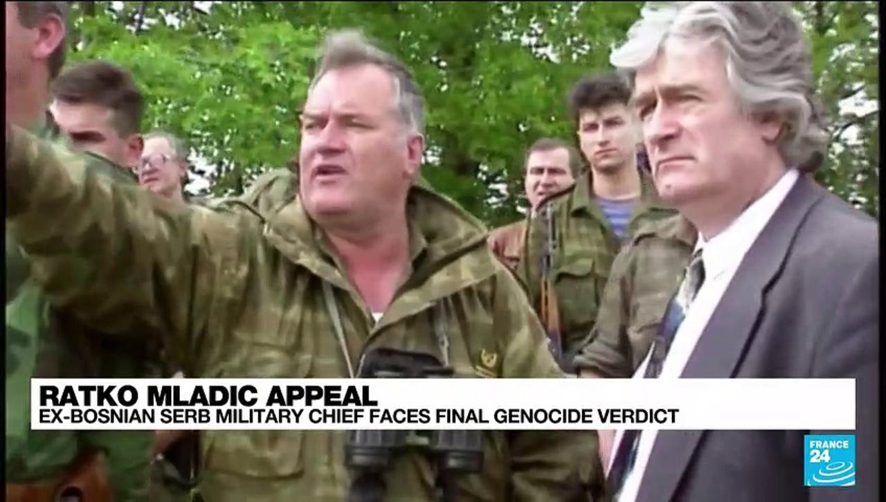 Bosnian Serb military leader Mladic faces final verdict in genocide case