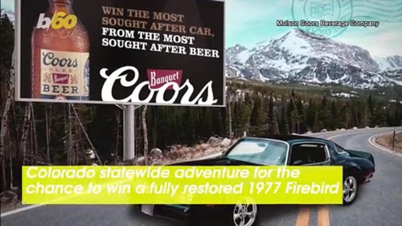 Coors & Classic Cars! Coors Sends People on a Colorado State-Wide Adventure for the Chance To Win a '77 Firebird!