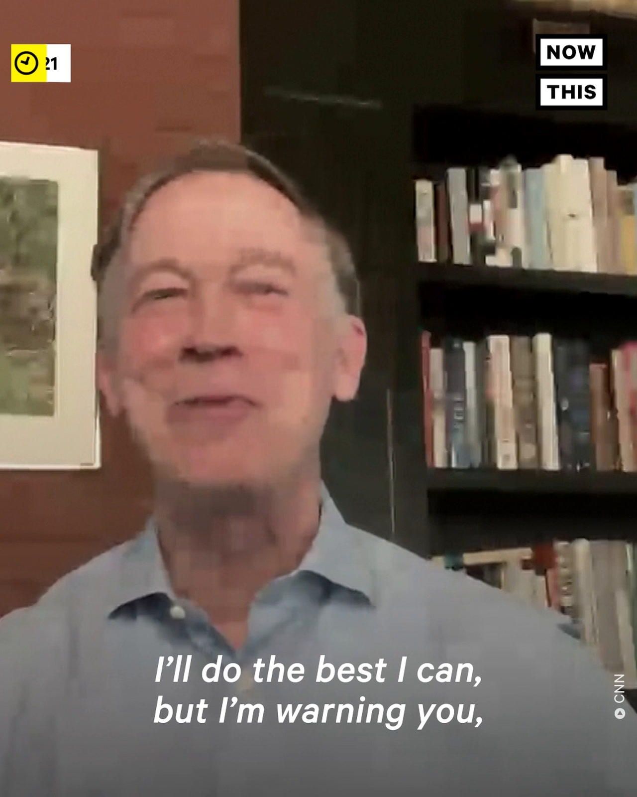 Sen. John Hickenlooper Sings in Support of the For the People Act