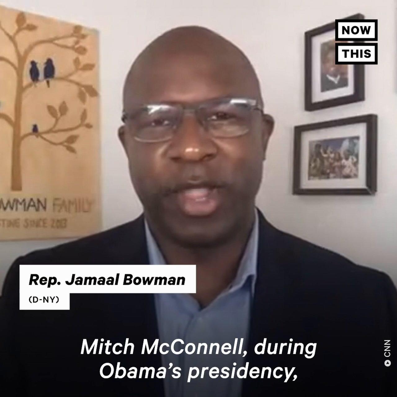 Rep. Bowman Calls Sen. Manchin 'The New Mitch McConnell'