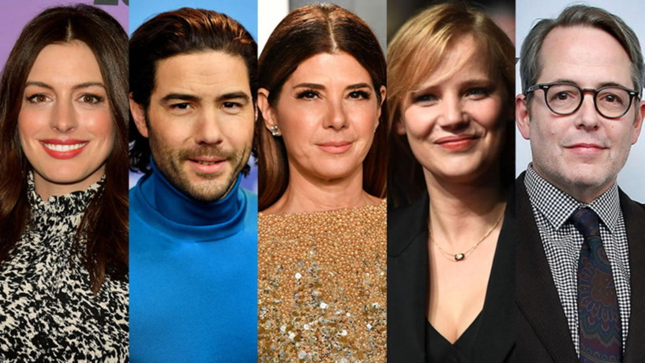 Anne Hathaway, Marisa Tomei, Matthew Broderick and More Team Up for 'She Came to Me' | THR News