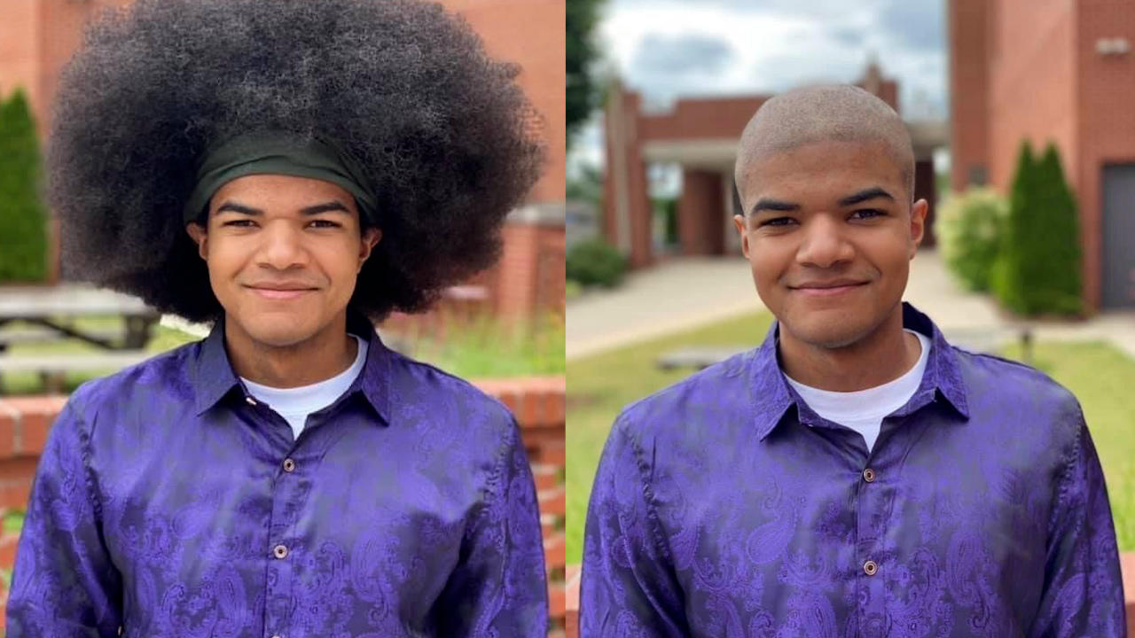 Teen Headed To Air Force Academy Donates Hair To Children With Cancer