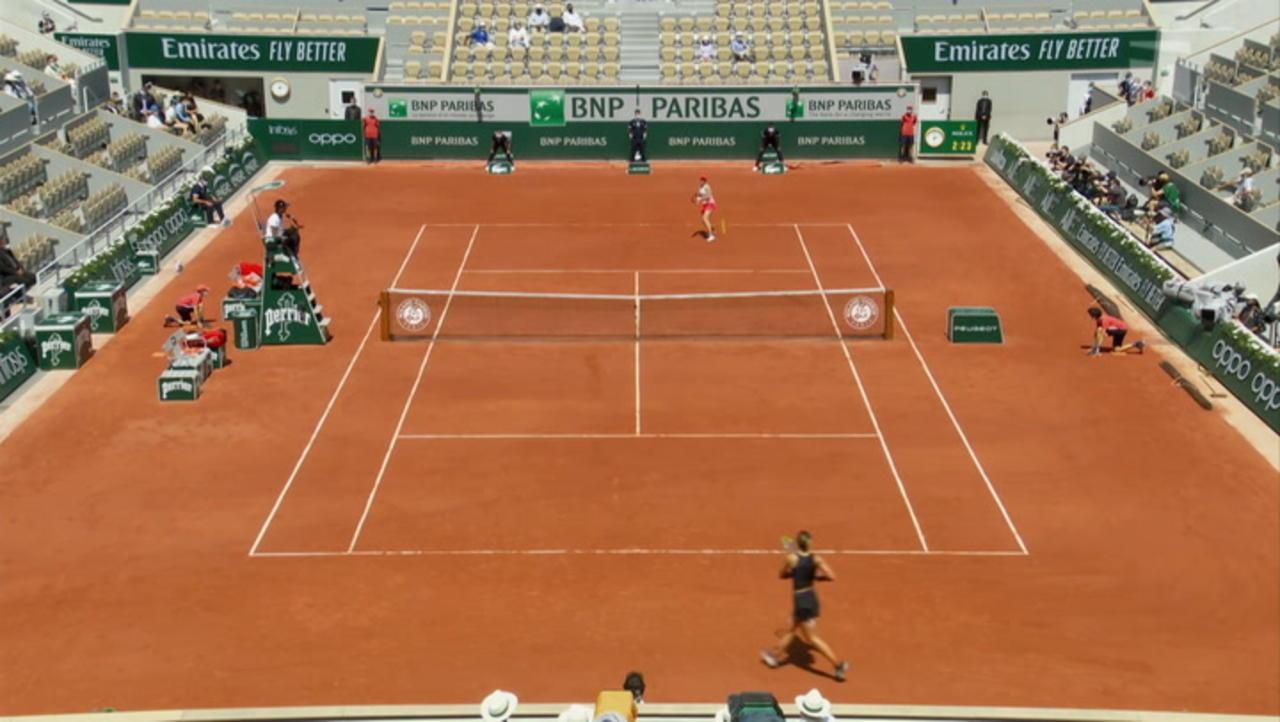 French Open Day 10 Recap: Tamara Zidanšek and Anastasia Pavlyuchenkova Both Advance to the Semifinals.