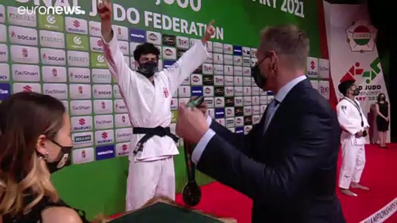 Glory for Georgia on Day Three of the Judo World Championships in Budapest