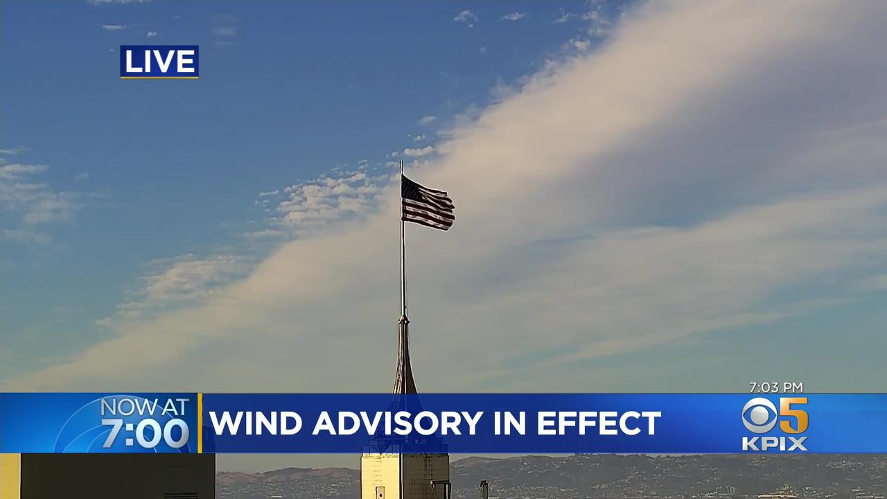 Wind Advisory in Effect for Bay Area