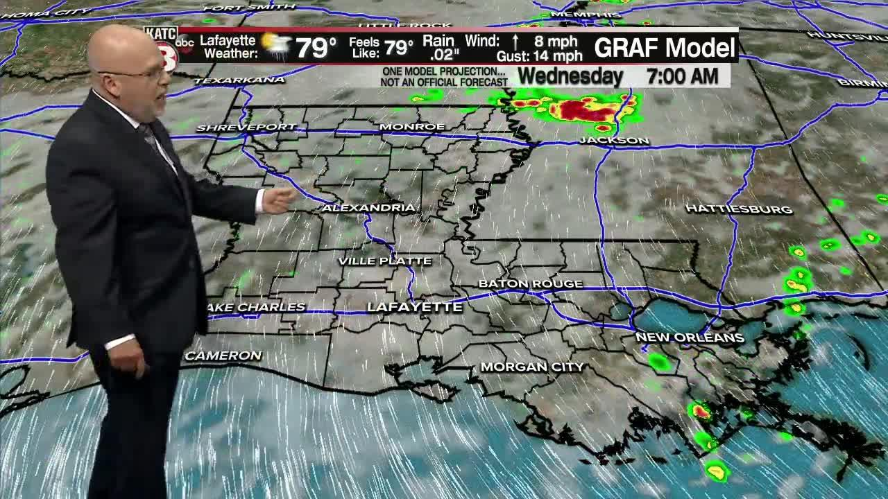 ROB'S WEATHER FORECAST PART 2 10PM 6-7-2021