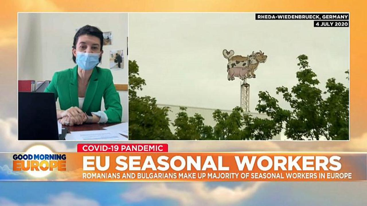 How can businesses keep seasonal workers in Europe safe?