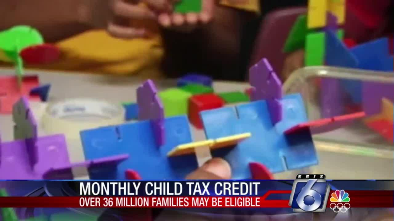 Monthly child tax credit