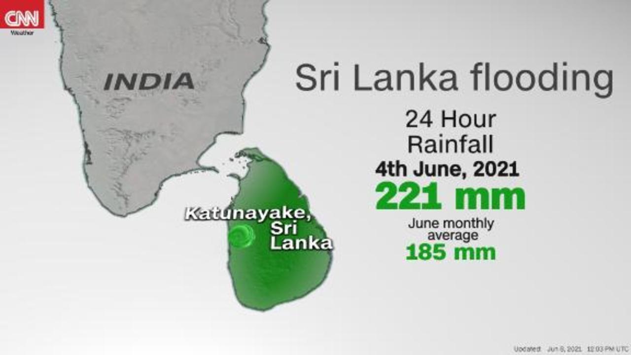 Deadly flooding and landslides hit Sri Lanka