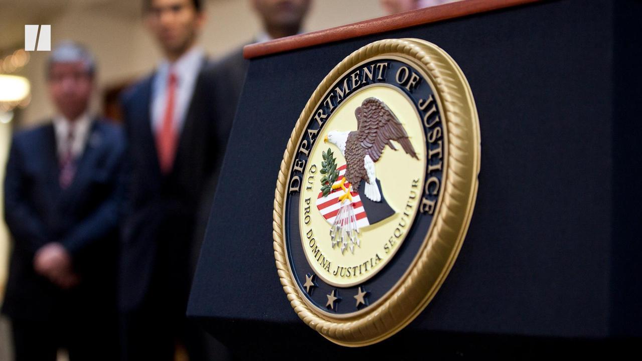 Department Of Justice Still Backs Trump