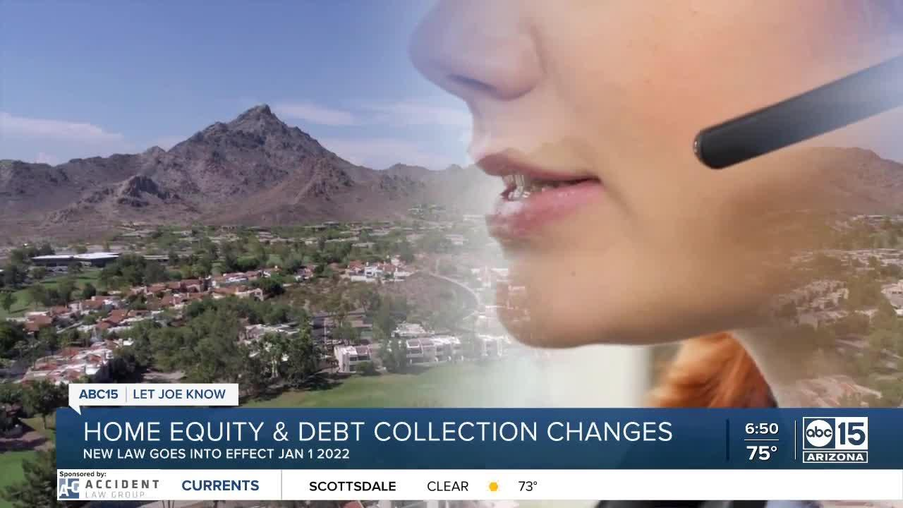 New Arizona law allows debt collectors access to your home's equity