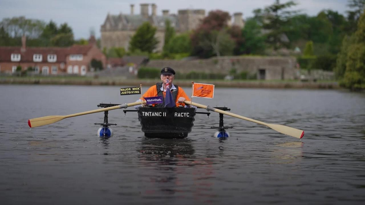Charity hero Major Mick sets off on another adventure