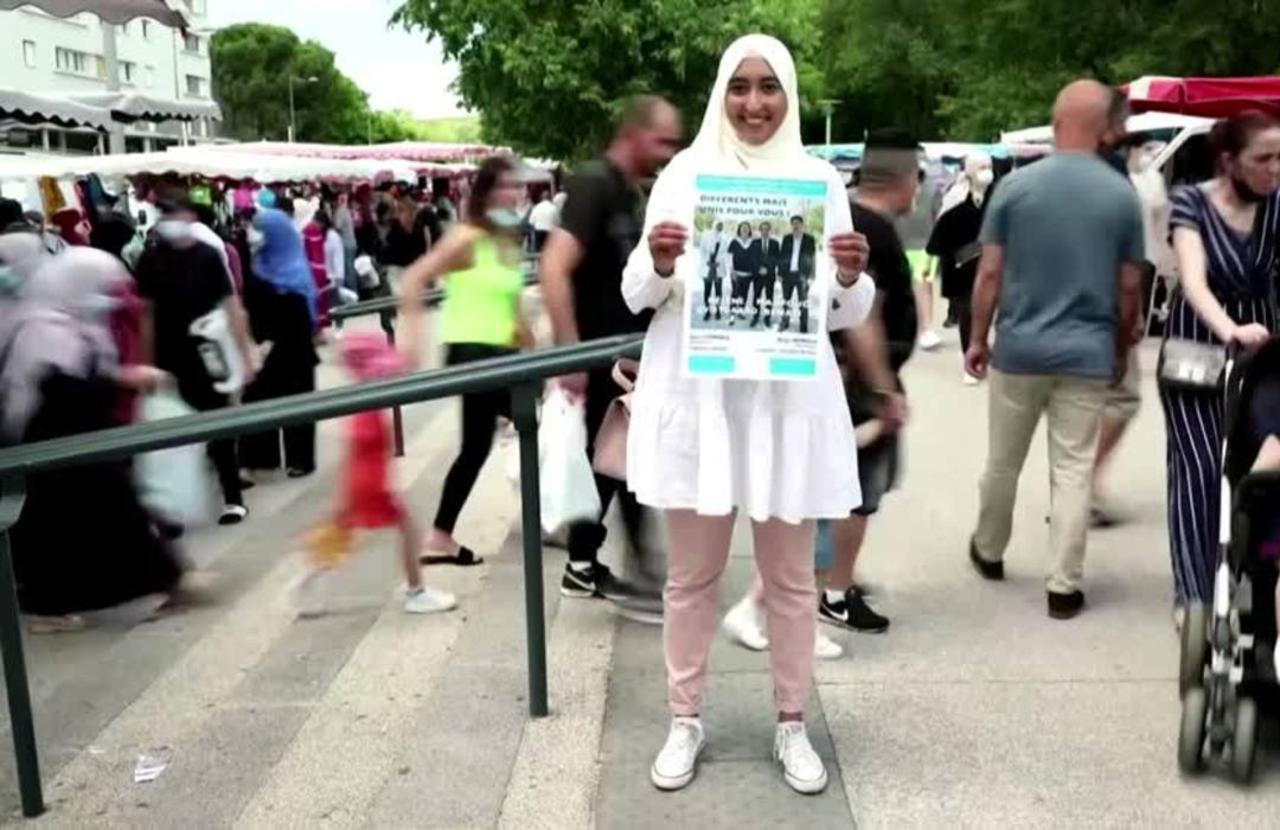 Hijab-wearing candidate sparks debate in France