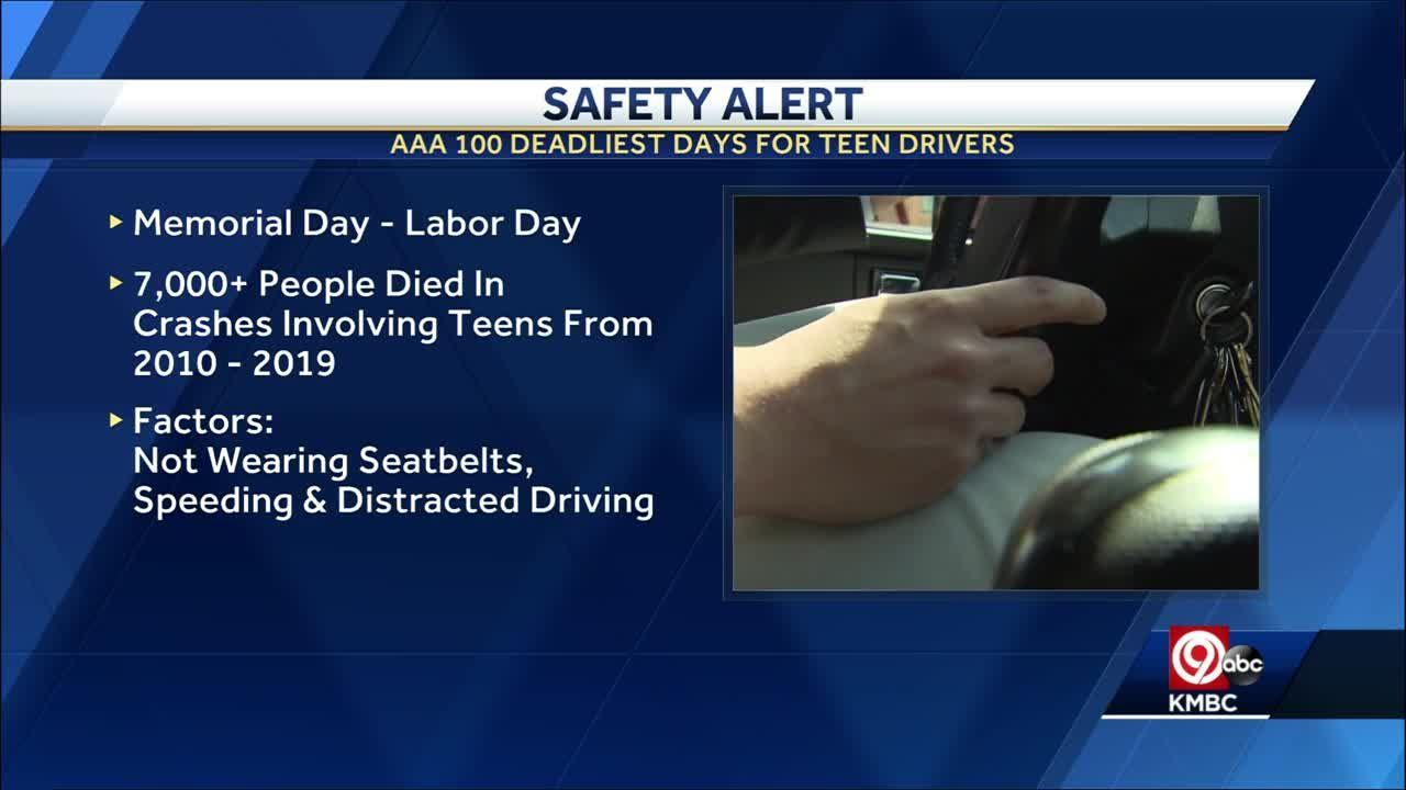 Talking to your kids as we enter the '100 Deadliest Days for Teen Drivers'