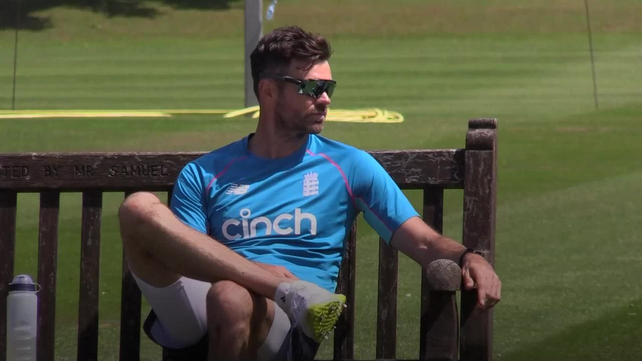 James Anderson admits he felt he 'wasn't good enough' at start of career