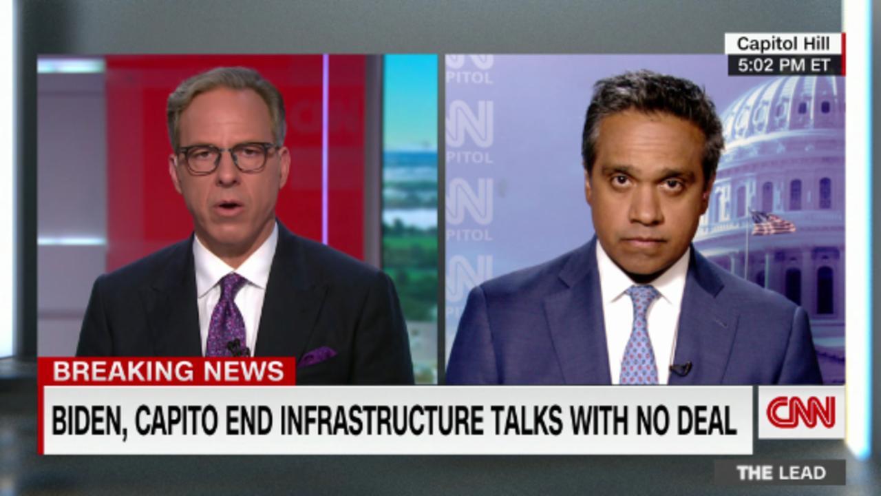 Biden shifts focus to plan B: a group of bipartisan senators working on an alternate infrastructure deal